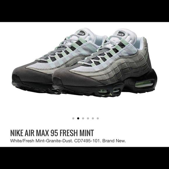 NWT ???? Air Max '95 Fresh Mint